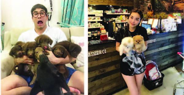 14 ดาราซุปตาร์เมืองไทย กับสัตว์เลี้ยงที่ทั้งน่ารักและน่าฟัด :_)