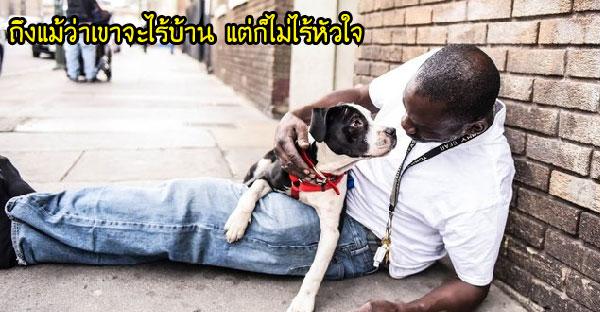 เมื่อคนจรจัดรับเลี้ยงสุนัขข้างถนน จึงเกิดเป็นมิตรภาพที่สวยงามจนทางการเข้ามาช่วยเหลือ