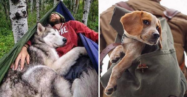14 ภาพน่ารักๆของสุนัขเพื่อนยาก ที่พวกมันพร้อมจะบุกป่าลุยไฟไปกับคุณทุกที่