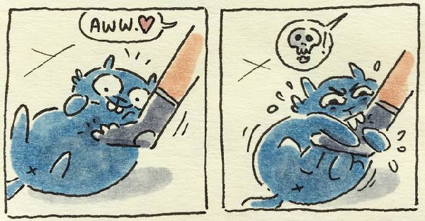การ์ตูนทาสแมวกับชีวิตประจำวันที่เต็มไปด้วยความสนุก จนทำให้เผลอยิ้มออกมาแบบไม่รู้ตัว