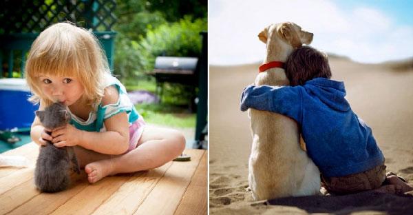 25 ความผูกพันเด็กน้อยกับสัตว์เลี้ยงที่จะเปลี่ยนความคิดของคุณพ่อ-คุณแม่!!