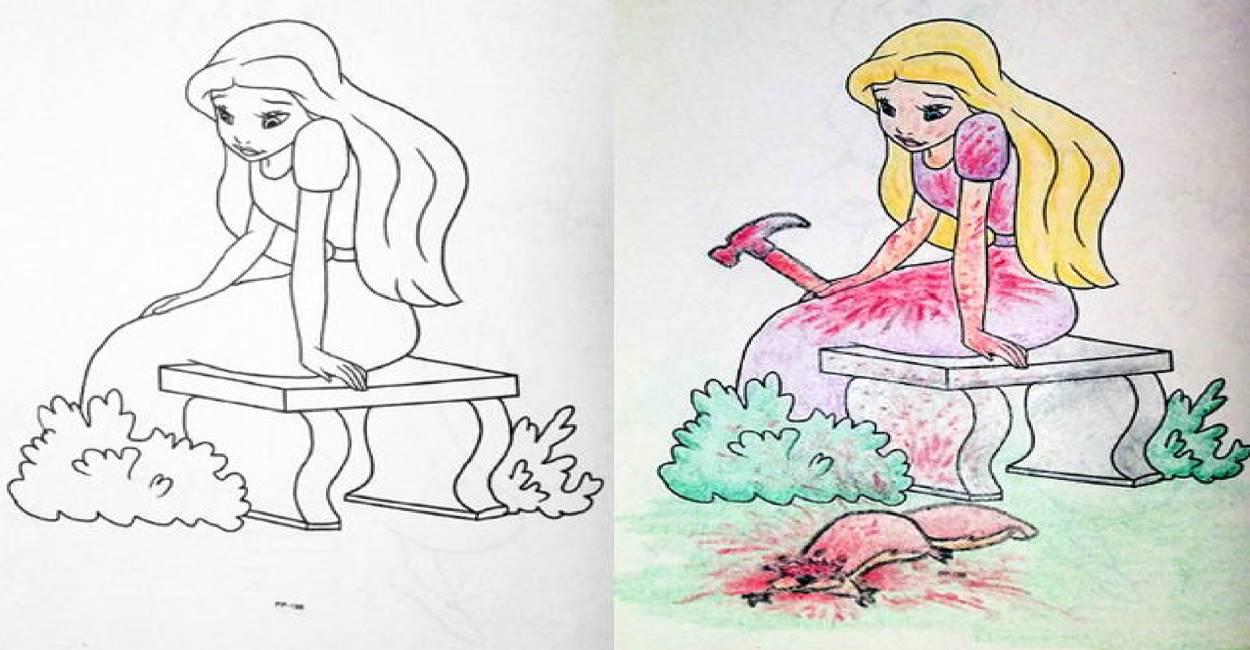 เมื่อหนังสือการ์ตูนสัตว์โลก ถูกแต่งเติมให้กลายเป็นการ์ตูนสายดาร์ก