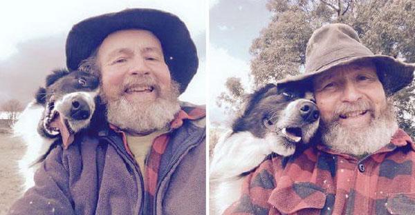 ลูกสาวสอนคุณพ่อให้ Selfie พอถ่ายเป็นเท่านั้นแหละ หยิบมาถ่ายกับหมารัวๆซะเลย