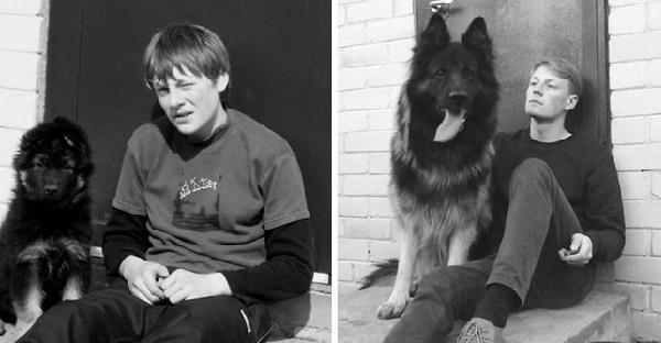 20 ภาพแห่งมิตรภาพอันอบอุ่นของสุนัขและมนุษย์ ที่เวลาไม่สามารถเปลี่ยนแปลงได้