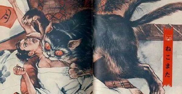 เปิดตำนานลึกลับ 'เนะโกะมาตะแมวผีญี่ปุ่น' และความเชื่อเรื่องอาถรรพ์แมวดำจากทั่วโลก