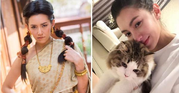 ความน่ารักของอีกด้านของแม่หญิงการะเกด ท่ี่เป็นคนรักหมารักแมวตัวจริงเสียงจริง!!