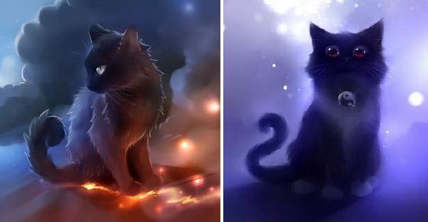 """ศิลปินสร้างผลงาน """"แมวมหัศจรรย์"""" เหนือธรรมชาติ ที่ทำมานานตลอดหลายปี"""