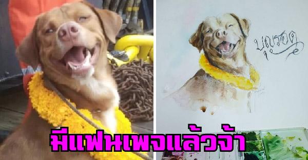 บุญรอดหมาอ่าวไทยมีแฟนเพจแล้ว เปิดวันเดียวมีคนติดตามมากกว่า 5,000 คนแล้ว