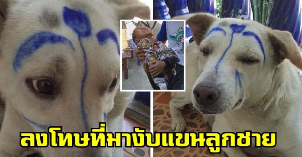 หมาที่บ้านตื่นคนจนงับแขนลูกชาย คุณแม่จึงขอจัดการให้ไม่มีที่ยืนในสังคมกันไปเลย